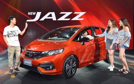 Honda Jazz 2017 chính thức ra mắt Đông Nam Á, giá dưới 400 triệu Đồng