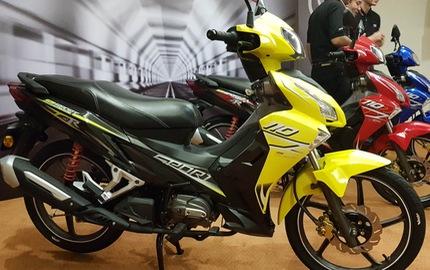 SM Sport 110R 2017 - Đối thủ mới của Honda Wave Alpha