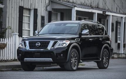 SUV 8 chỗ Nissan Armada 2018 trình làng với công nghệ mới, đối đầu Toyota Sequoia