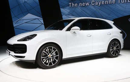 Chưa được bày bán, Porsche Cayenne Turbo 2018 đã lộ giá