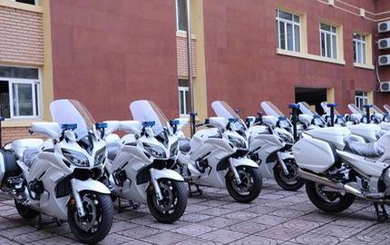 Dàn Yamaha FJR1300P mới của Bộ Công An có gì đặc biệt?