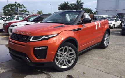 Hé lộ giá và thêm ảnh Range Rover Evoque mui trần tại Việt Nam