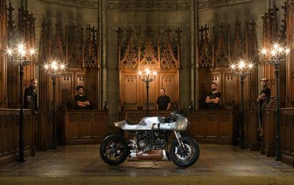 Ducati Hypermotard độ Café Racer cực dị từ Be Unique 2.22