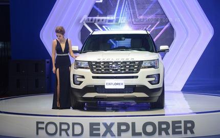 Trực tiếp: Ford Việt Nam là gian hàng duy nhất không đem đến sản phẩm mới nào