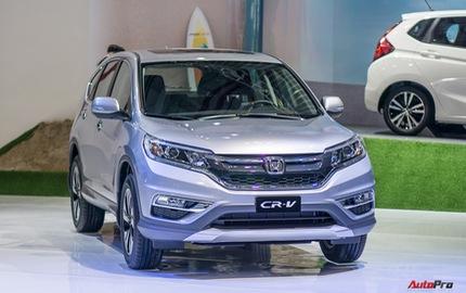 Giảm giá kịch sàn, Honda CR-V bán chạy gấp đôi Mazda CX-5
