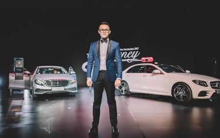 Trò chuyện cùng MC Đức Bảo về nghề dẫn chương trình tại triển lãm xe sang