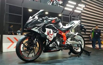 Honda CBR250RR phiên bản đặc biệt mới được vén màn, giá từ 120,6 triệu Đồng