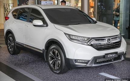 Honda CR-V 2017 tại Malaysia không có phiên bản 7 chỗ