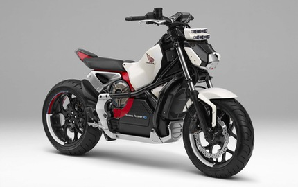 Honda hé lộ hình ảnh của mẫu mô tô tự cân bằng và chống đổ thứ hai