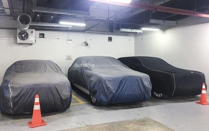 Lại thêm hầm để xe tràn ngập siêu xe và xe siêu sang tại Hà Nội