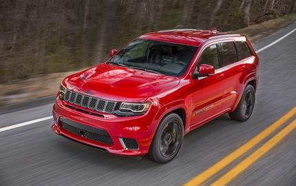 Jeep Grand Cherokee Trackhawk 2018 - xe SUV thương mại mạnh nhất thế giới - được chốt giá