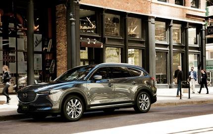Crossover 3 hàng ghế Mazda CX-8 sẽ được bán ngoài Nhật Bản