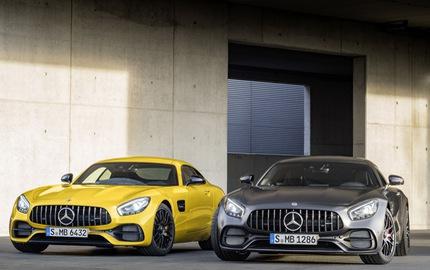 Xe thể thao hạng sang Mercedes-AMG GT C Coupe 2018 chính thức ra mắt
