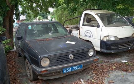 Cận cảnh chiếc xe công giá 15 triệu ở Vĩnh Phúc: