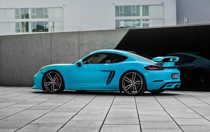 Porsche 718 Boxster có thể nâng gầm 6 cm nhờ gói độ của TechArt