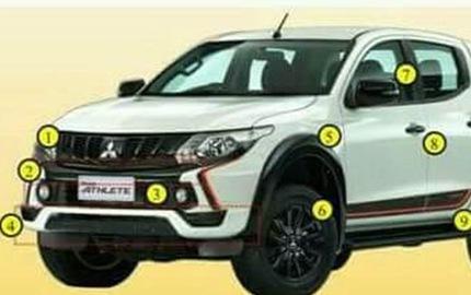 Mitsubishi Triton sắp ra mắt phiên bản đặc biệt