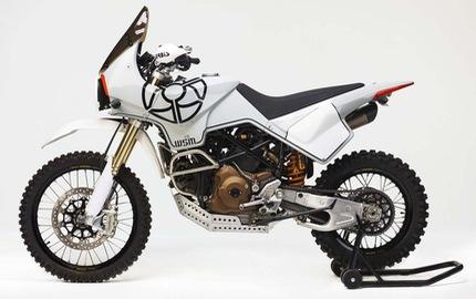 Ducati Hypermotard 1100 biến hình thành xe adventure chính hiệu