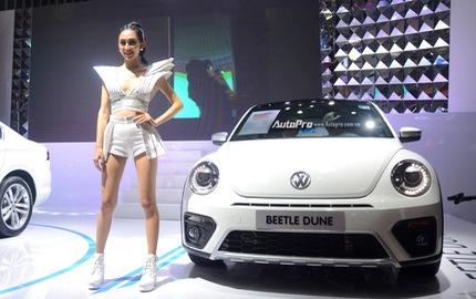 """Cận cảnh """"con bọ"""" Volkswagen Beetle Dune giá 1,469 tỷ Đồng"""