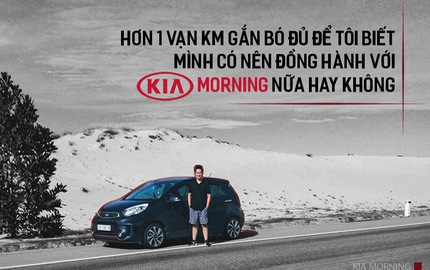 Người dùng đánh giá Kia Morning sau 1 năm sử dụng