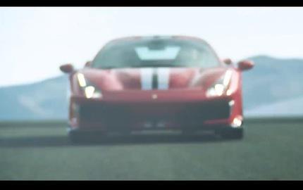 Siêu ngựa Ferrari 488 GTO lộ diện trong video mới