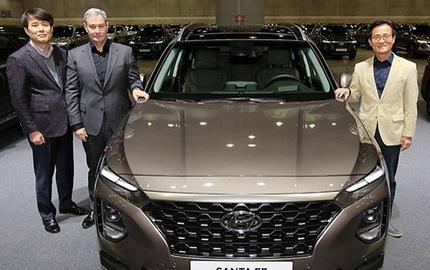Hyundai Santa Fe 2019 chính thức ra mắt với lượng bán kỷ lục