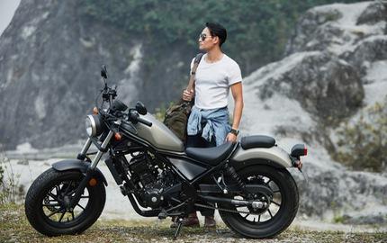 Honda Rebel 300 giá 125 triệu đồng sắp bán ra tại Việt Nam