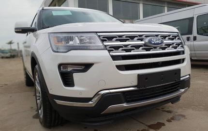 Ford Explorer Limited 2018 nhập Mỹ vượt rào, cả trăm xe sắp đổ ra thị trường Việt