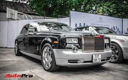 Rolls-Royce Phantom EWB bí ẩn của ông chủ cà phê Trung Nguyên xuất hiện tại Sài Gòn