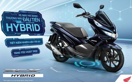 Honda PCX Hybrid - Xe tay ga động cơ lai xăng điện đầu tiên tại Việt Nam, giá 90 triệu đồng