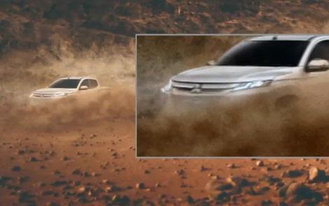 Mitsubishi Triton giống Xpander tiếp tục nhá hàng, chốt ngày ra mắt 9/11