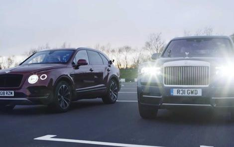 Rolls-Royce Cullinan vs Bentley Bentayga: Ai sẽ thắng trong cuộc đua drag?