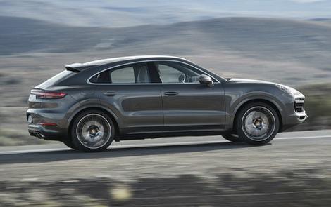 Porsche Cayenne Coupe chốt giá từ 4,95 tỷ đồng tại Việt Nam