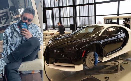 'Cậu ấm' quẹt thẻ tín dụng của cha để mua siêu xe Bugatti Chiron giá 3,8 triệu USD