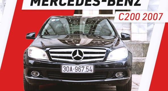 Người dùng đánh giá Mercedes-Benz C-Class hơn 10 năm tuổi: Đừng nghe lời đồn truyền miệng