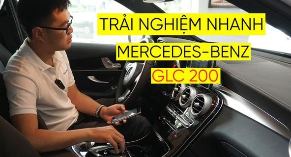 Trải nghiệm nhanh Mercedes-Benz GLC 200 - Sứ mệnh lấy khách phổ thông tại Việt Nam