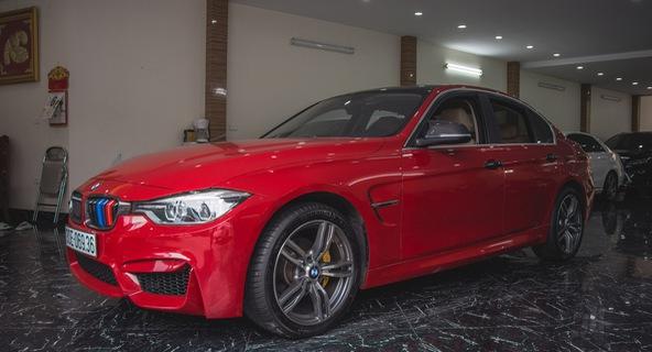 BMW 3-Series độ phong cách M3 chất chơi tại Hà Nội