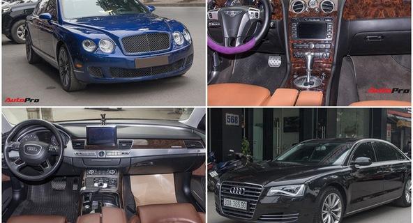 Cùng giá 2,85 tỷ đồng, chọn Bentley Spur Speed 2008 hay Audi A8L 2013?
