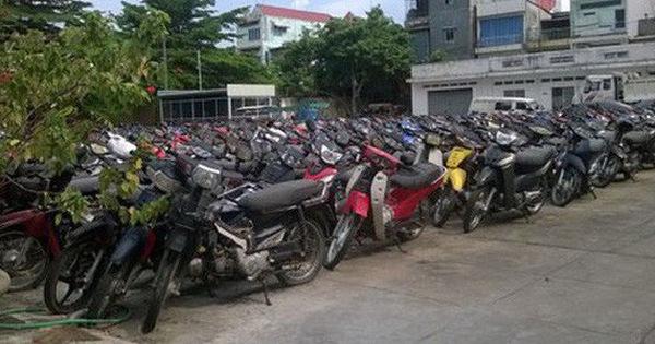 """Quá tải xe máy """"vô chủ"""" ở TP. HCM, Đồng Nai"""