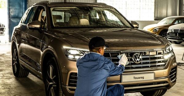 HOT: SUV 7 chỗ Volkswagen Touareg 2019 chung khung gầm Lamborghini Urus đã về Việt Nam, sẵn sàng ra mắt