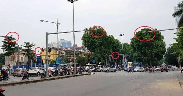 """Cận cảnh """"rừng"""" camera khó dùng phạt nguội tại Hà Nội  Bạn đọc"""