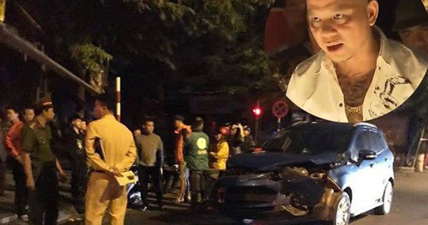 """Xe hơi của Anh Tuấn """"Người phán xử"""" nát đầu vì va chạm với xe của cầu thủ Hồng Sơn"""