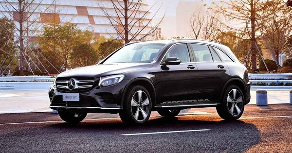 Xe hot Mercedes-Benz GLC có thêm bản trục cơ sở dài