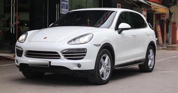 "Porsche Cayenne 2014 giá ngang Mercedes-Benz E300 AMG ""đập hộp"""