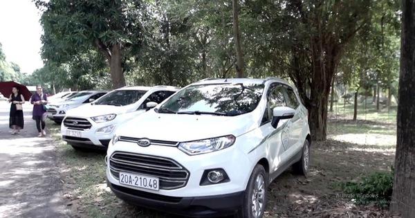 Ford EcoSport – chiếc mini SUV kết nối các gia đình Việt