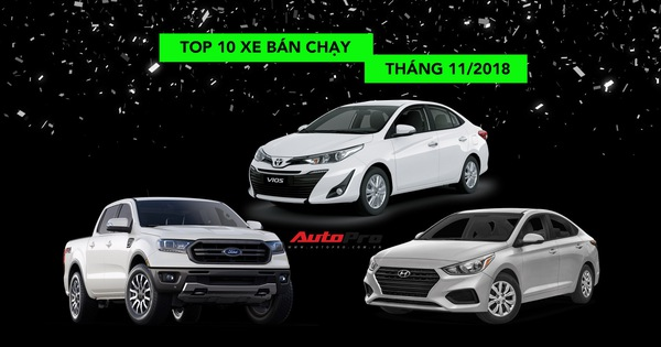 Toyota Wigo bất ngờ biến mất khỏi Top 10 xe bán chạy tháng 11/2018