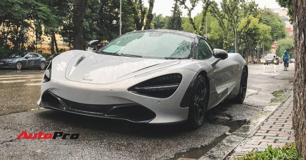 McLaren 720S đầu tiên tại Việt Nam tắm mưa rét Hà Nội