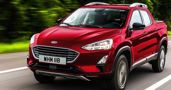 Ford sẽ có bán tải mới nhỏ hơn Ranger, dùng khung gầm Focus