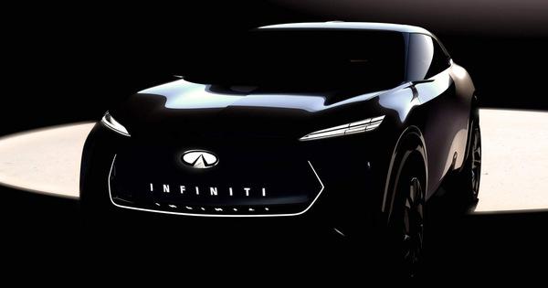 Infiniti hé lộ concept SUV đẹp tới ngỡ ngàng