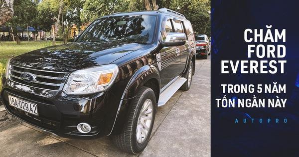 """""""Nuôi"""" xe 5 năm, lăn bánh gần 110.000 km khắp cả nước, người dùng tiết lộ độ trâu của Ford Everest đời cũ"""