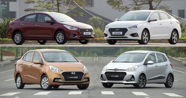 Hyundai Grand i10 thất thế, Accent vươn lên mạnh mẽ – Trật tự mới đối trọng với Toyota Wigo, Vios